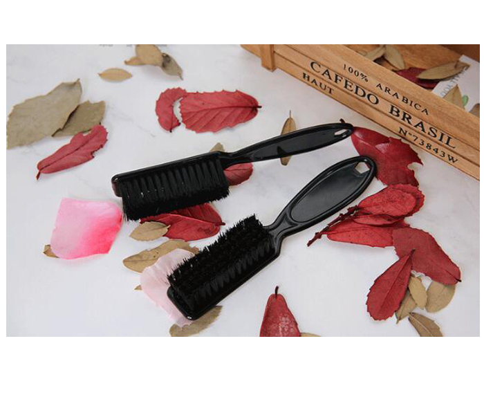 Custom Shaving Factory Clipper Blade Cleaning brush & black color fade brush can be custom with your logo for barber shop